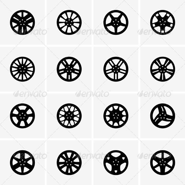 GraphicRiver Car Rims 5405882