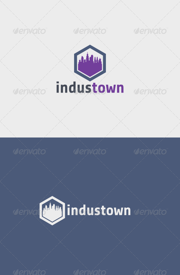 GraphicRiver Industown Logo 5405908