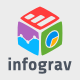 Infograv Logo  - GraphicRiver Item for Sale