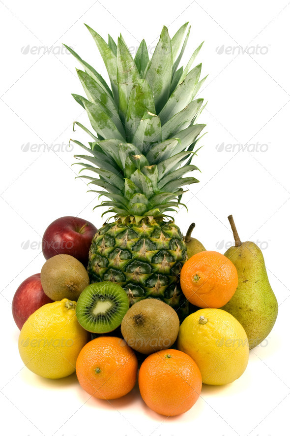 Fresh Various Fruits - Stock Photo - Images