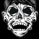 Javanese Skull - GraphicRiver Item for Sale