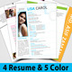 Unlimited Resume Pack v2 - GraphicRiver Item for Sale
