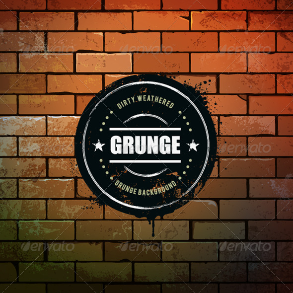 GraphicRiver Grunge Circle Banner 5408490