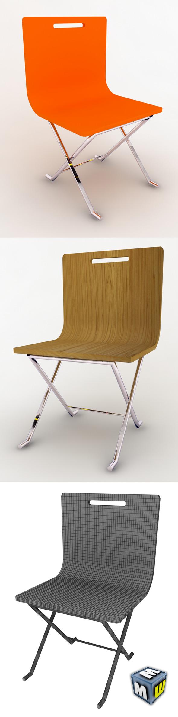 3DOcean Chair MAX 2008 5409548