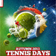 Tennis Sport Days Poster - GraphicRiver Item for Sale