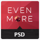 Evenmore Multipurpose Premium PSD Template (Business) Download