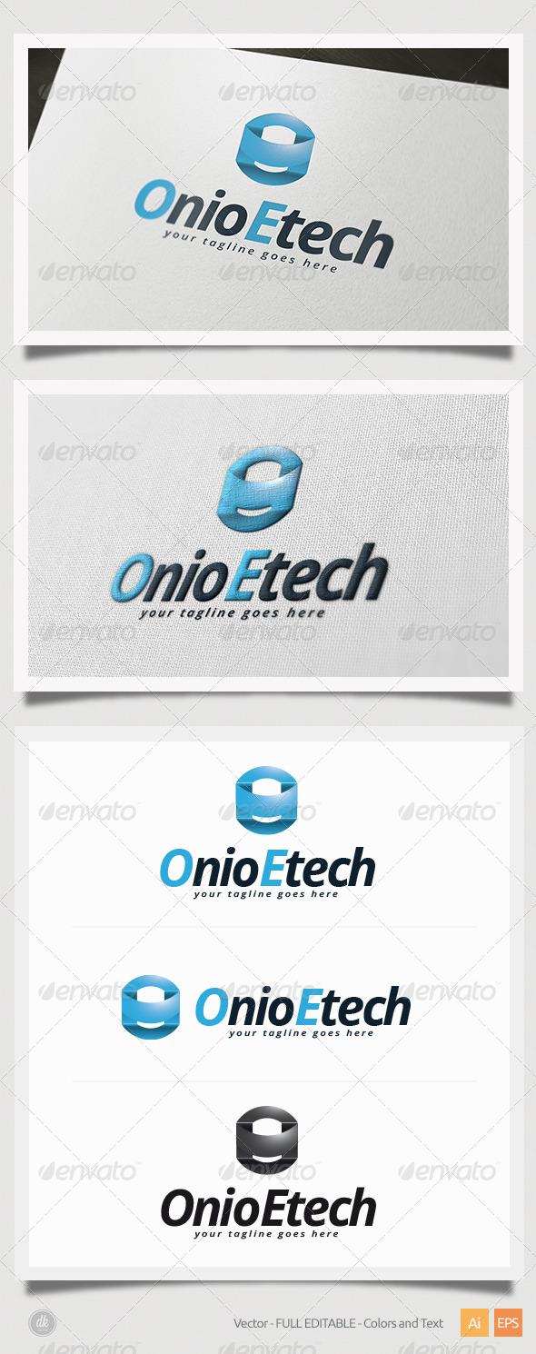 GraphicRiver Onio Etech Logo 5412741