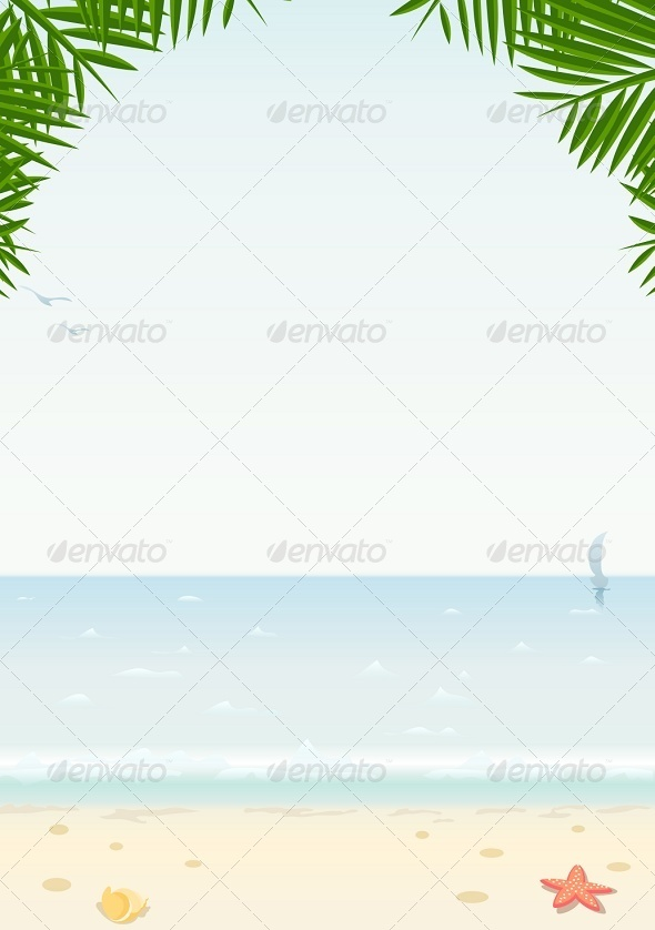 GraphicRiver Sea and Beach 5414508