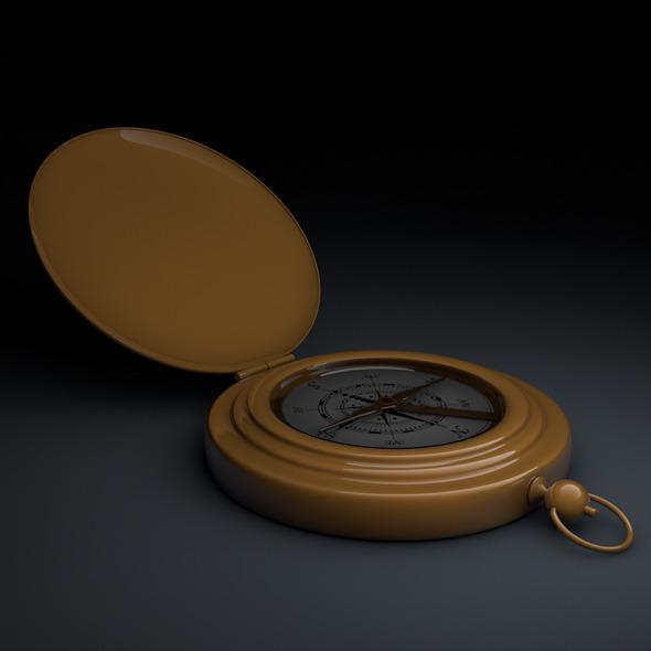 3DOcean Antique Compass 5415257