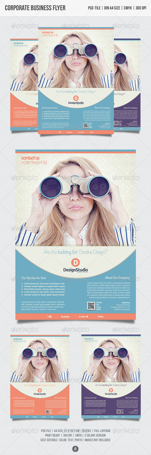 GraphicRiver Business Corporate Flyer 5415603