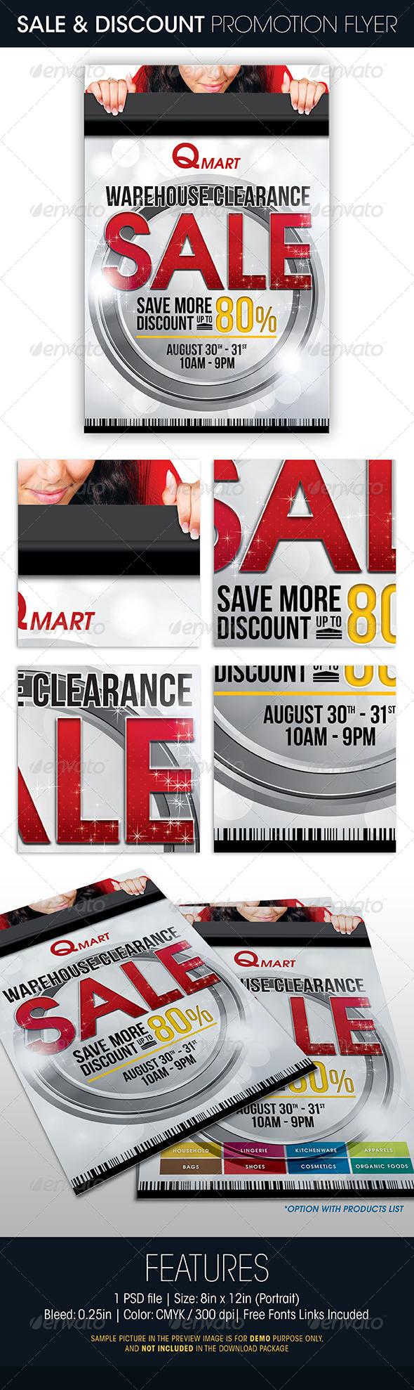 GraphicRiver Sale Discount Promotion Flyer 5383097