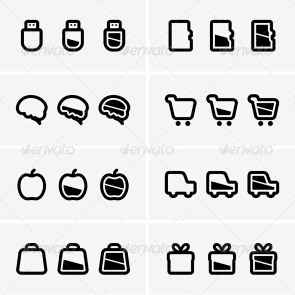 GraphicRiver Indicator Icons 5417791