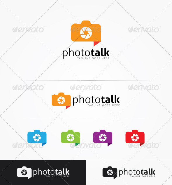 GraphicRiver Photo Talk 5418527