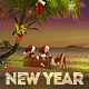Tropical New Year Flyer - GraphicRiver Item for Sale