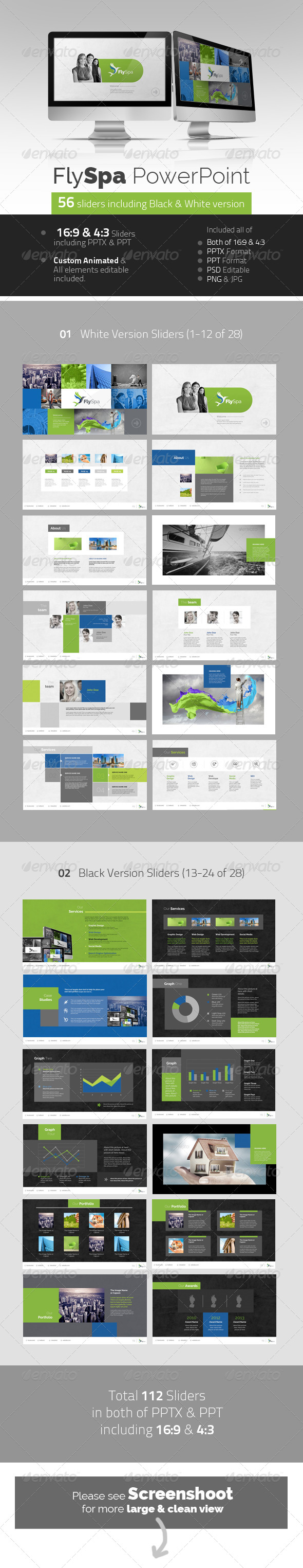 GraphicRiver FlySpa Professional PowerPoint 5419776