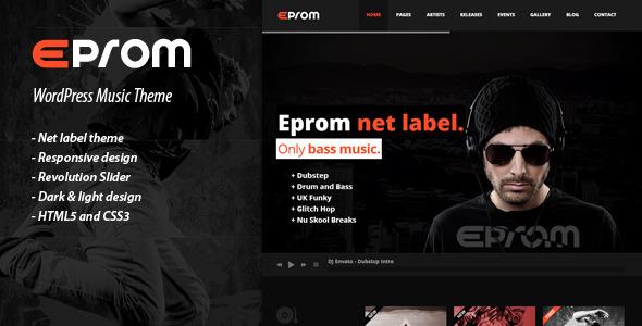 EPROM v1.2.3 | ThemeForest WordPress Music Theme
