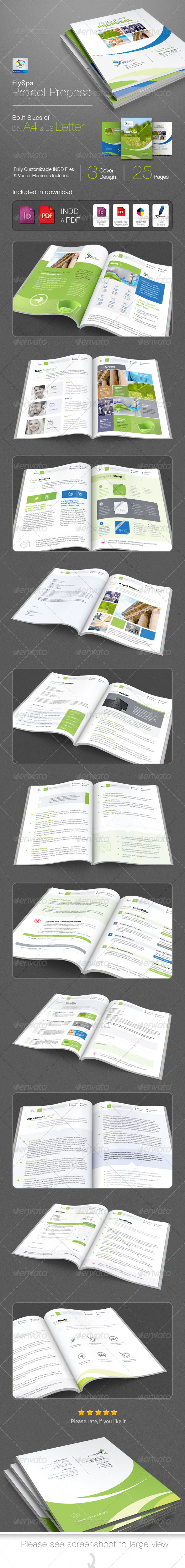 GraphicRiver FlySpa Project Proposal 5420297