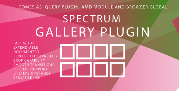 CodeCanyon Spectrum Gallery Plugin 5375789