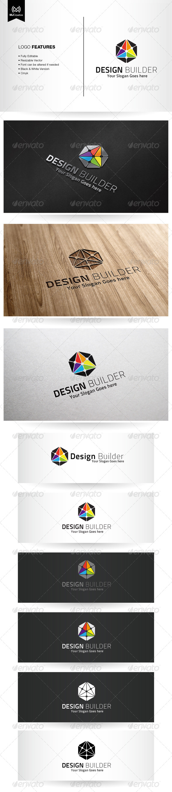 GraphicRiver Design and Technology Logo 5420634