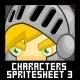 Characters Spritesheet 3-Graphicriver中文最全的素材分享平台