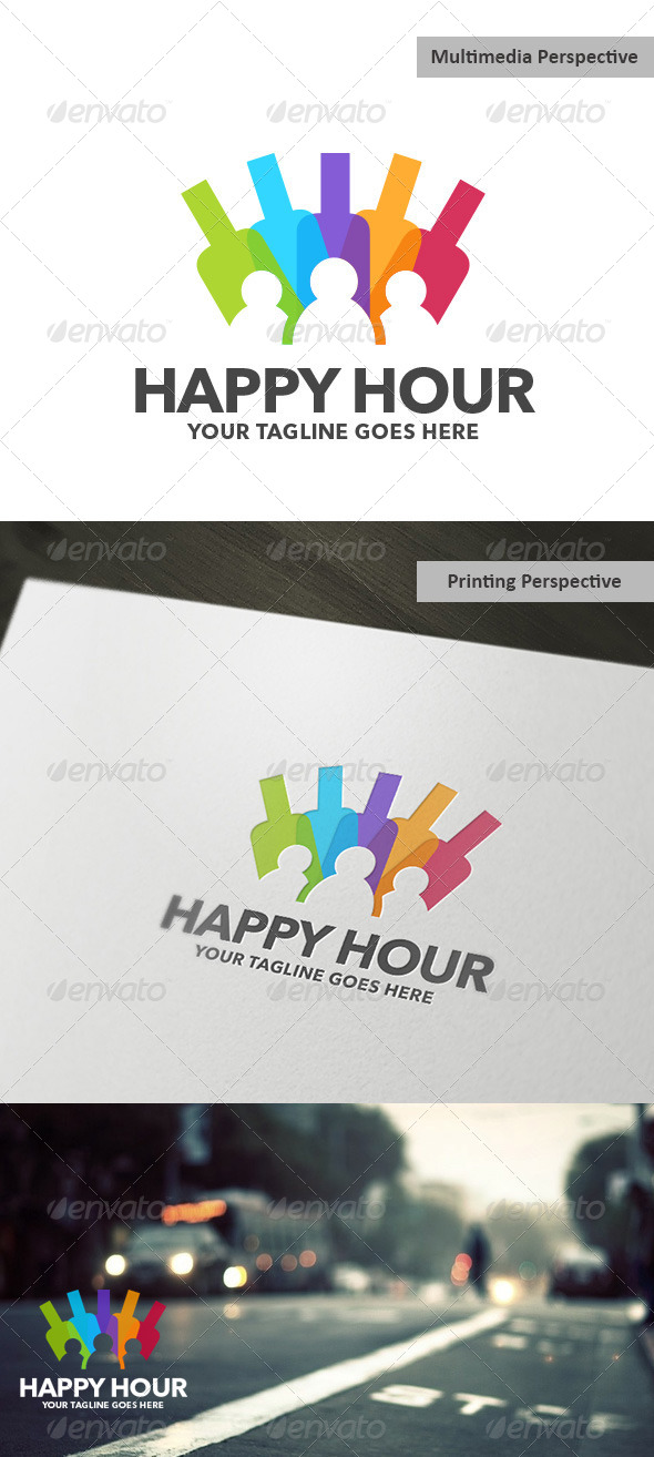 GraphicRiver Happy Hour 5409847