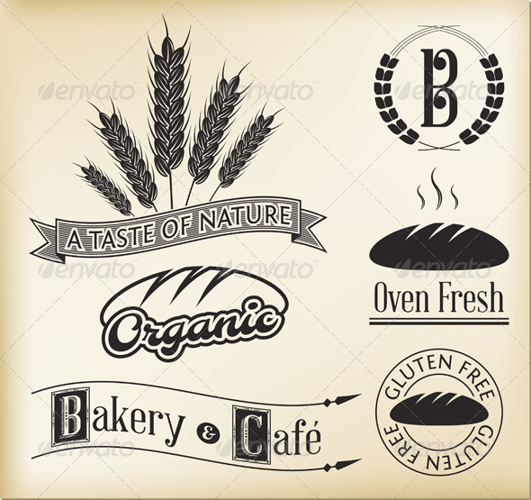 GraphicRiver Bakery Labels 5422750