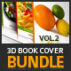 3D Book Cover vol.2 - Bundle - GraphicRiver Item for Sale