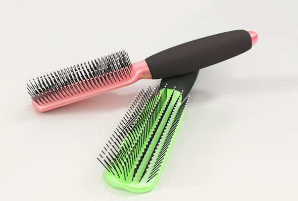 3DOcean Hair Brush 5423782
