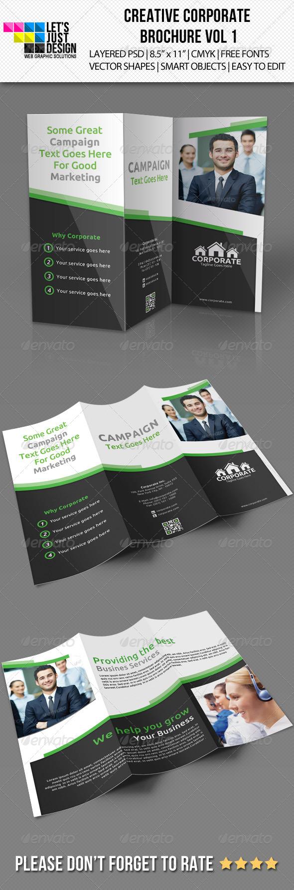 GraphicRiver Creative Corporate Brochure Vol 1 5423784