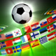 Soccer Ball With International Flags - VideoHive Item for Sale