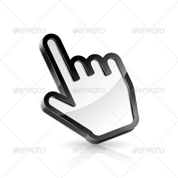 GraphicRiver Hand Pointer 5350907