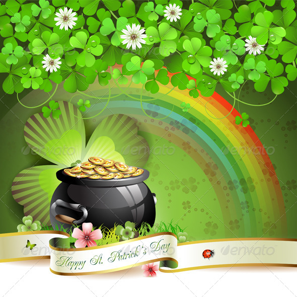 GraphicRiver Saint Patrick s Day card 5426967
