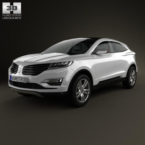 3DOcean Lincoln MKC 2013 5427231