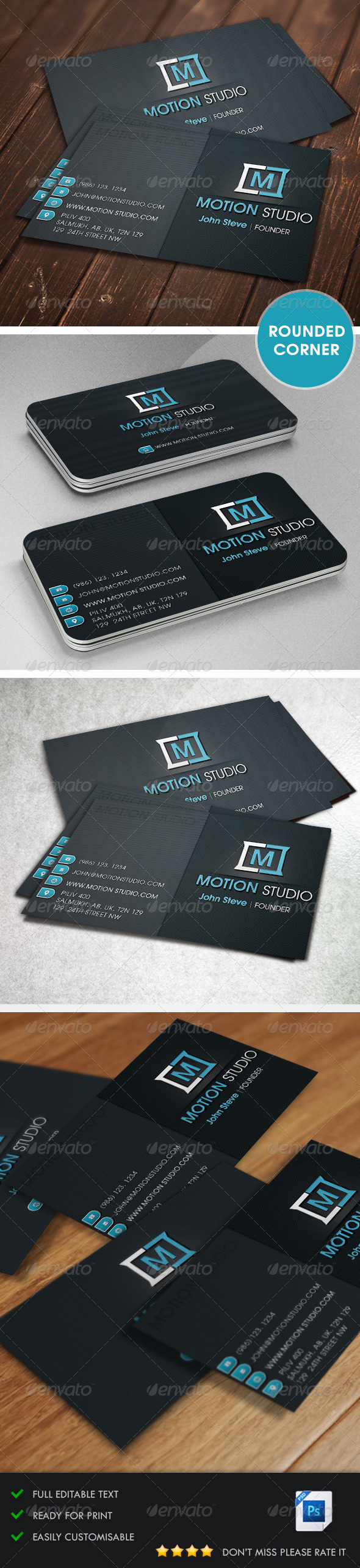 GraphicRiver Corporate Business Card v3 5396637