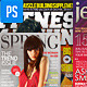 Fitness & Fashion Magazine Cover Templates - GraphicRiver Item for Sale