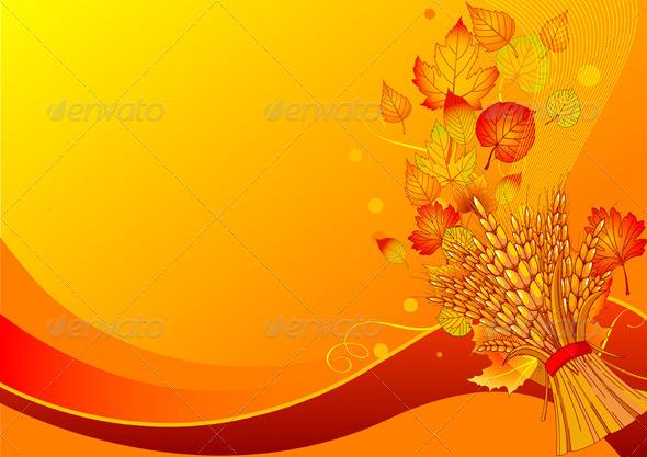GraphicRiver Harvest Background 5428957