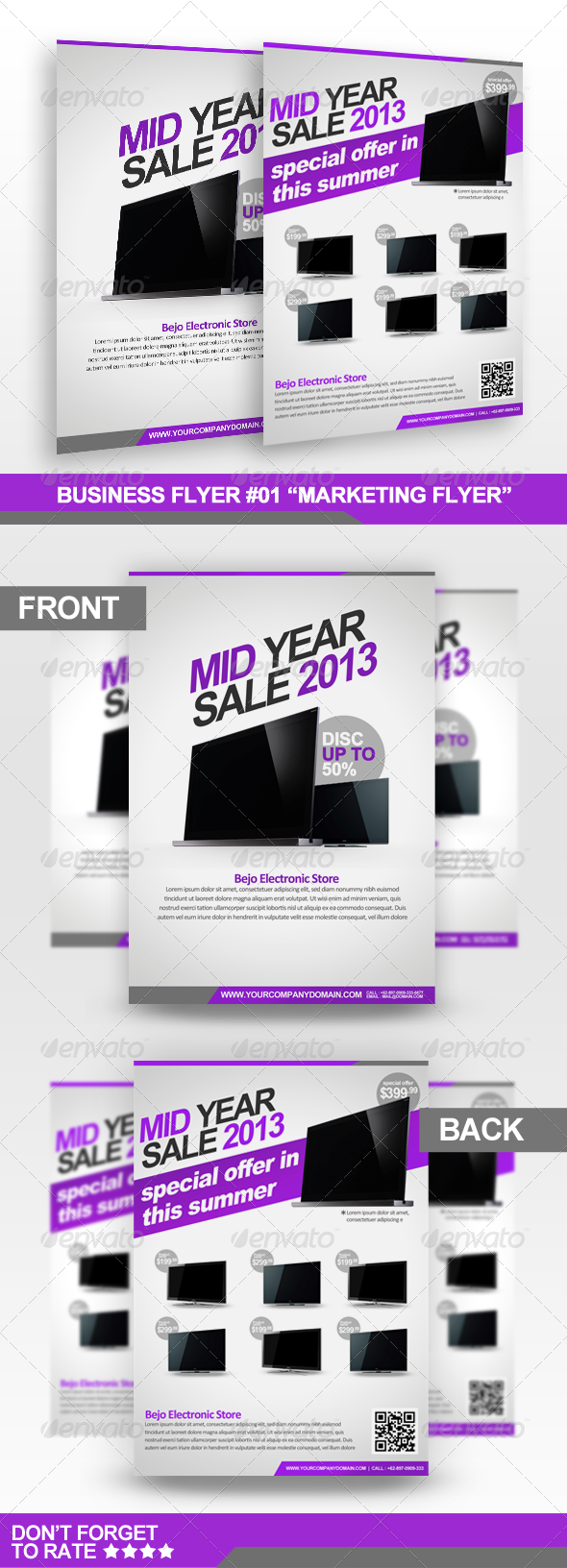 "Business Flyer - ""Marketing Template 01"" - Corporate Flyers"