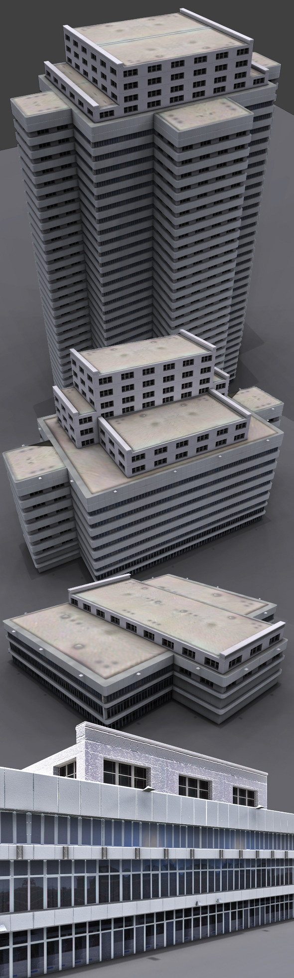3DOcean Modern Buildings 5429383