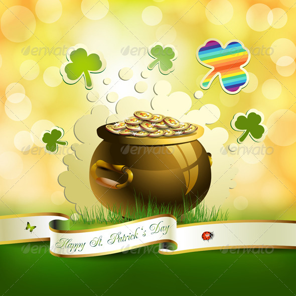 GraphicRiver St Patrick s Day Card 5430802