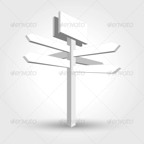 GraphicRiver Abstract Waymark 5431115