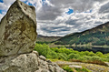 Bruce's stone above Loch Trool - PhotoDune Item for Sale