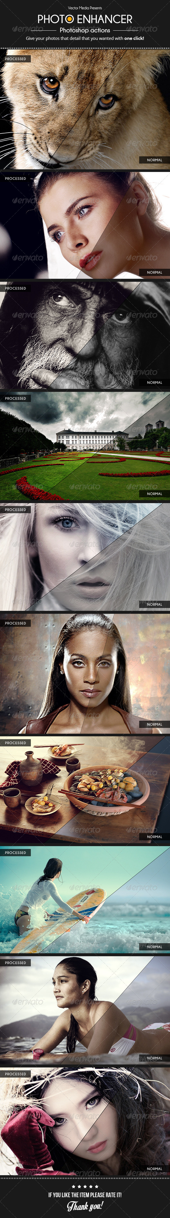 GraphicRiver Photo Enhancer Actions 5435029