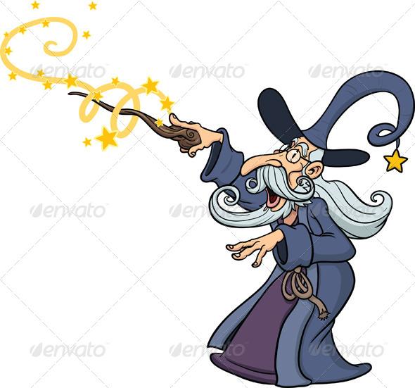 GraphicRiver Cartoon Wizard 5435632