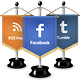 Social Media Flags / Icons - GraphicRiver Item for Sale