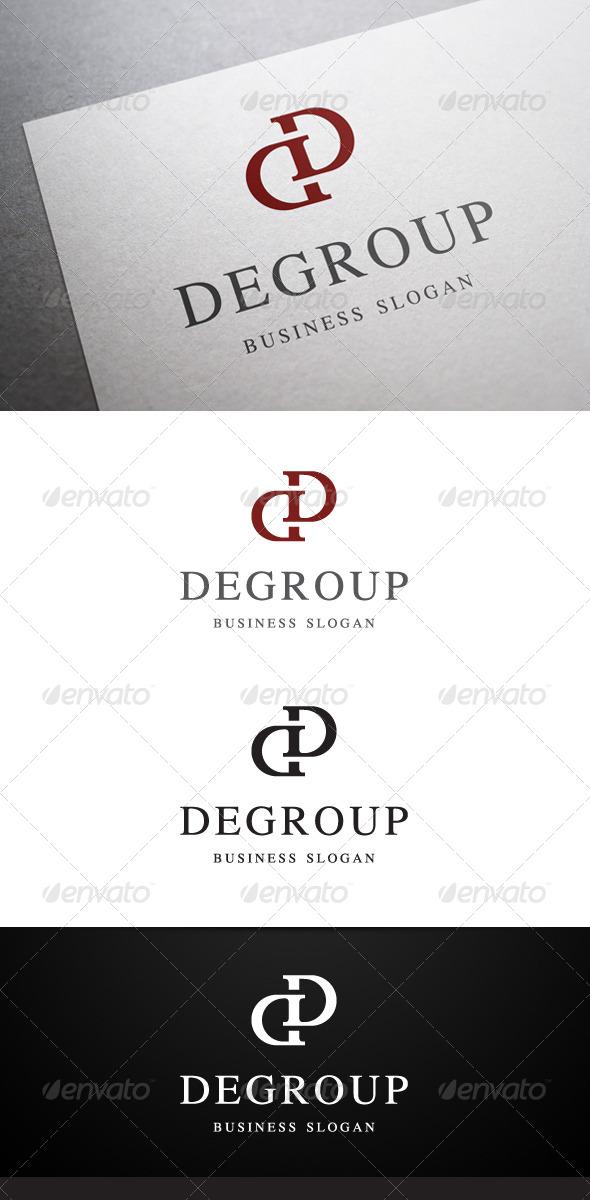 GraphicRiver Degroup D Letter Logo 5435991