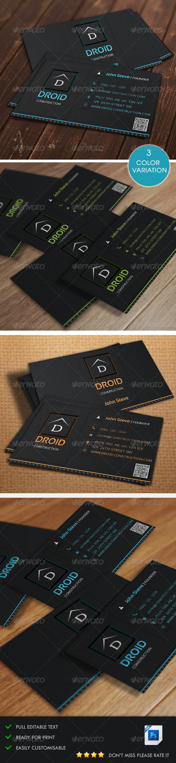 GraphicRiver Corporate Business Card v4 5436393