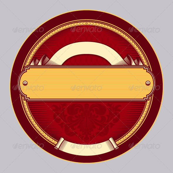 GraphicRiver Retro Label 5437251