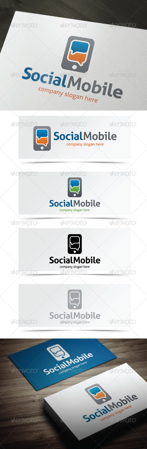 GraphicRiver Social Mobile 5437257