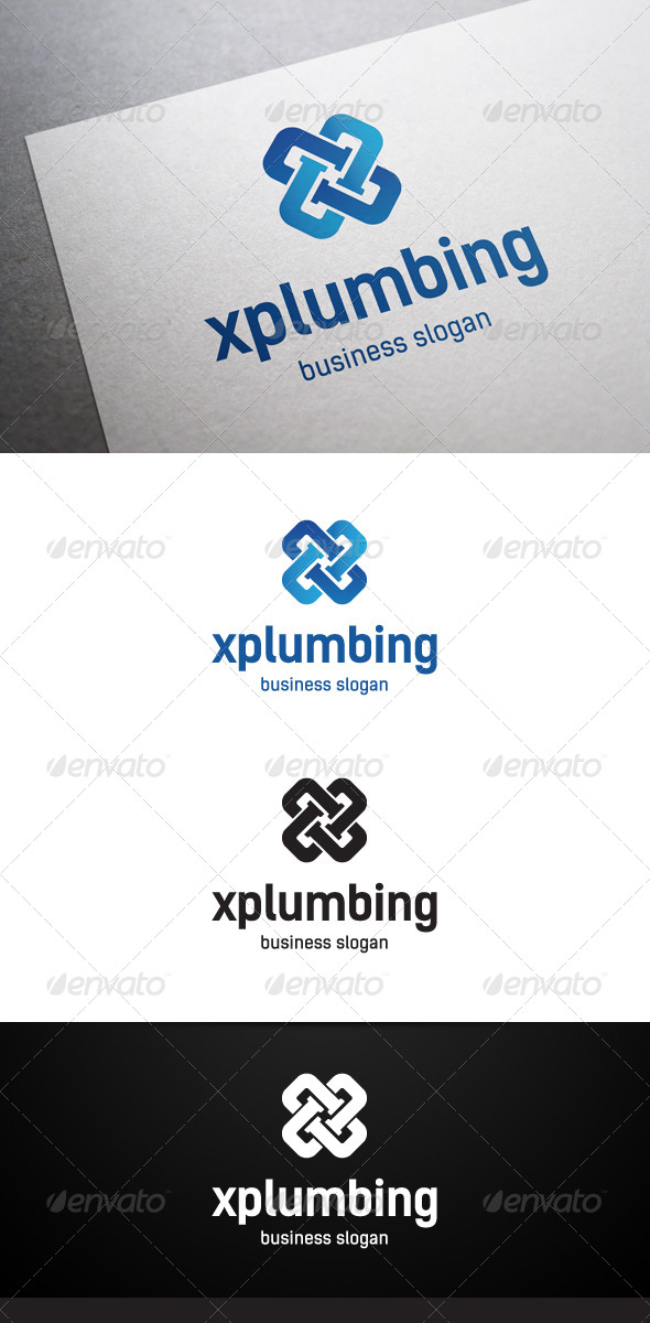 GraphicRiver Xplumbing Logo 5437951