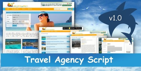 Travel Agency Script (PHP Scripts) Download